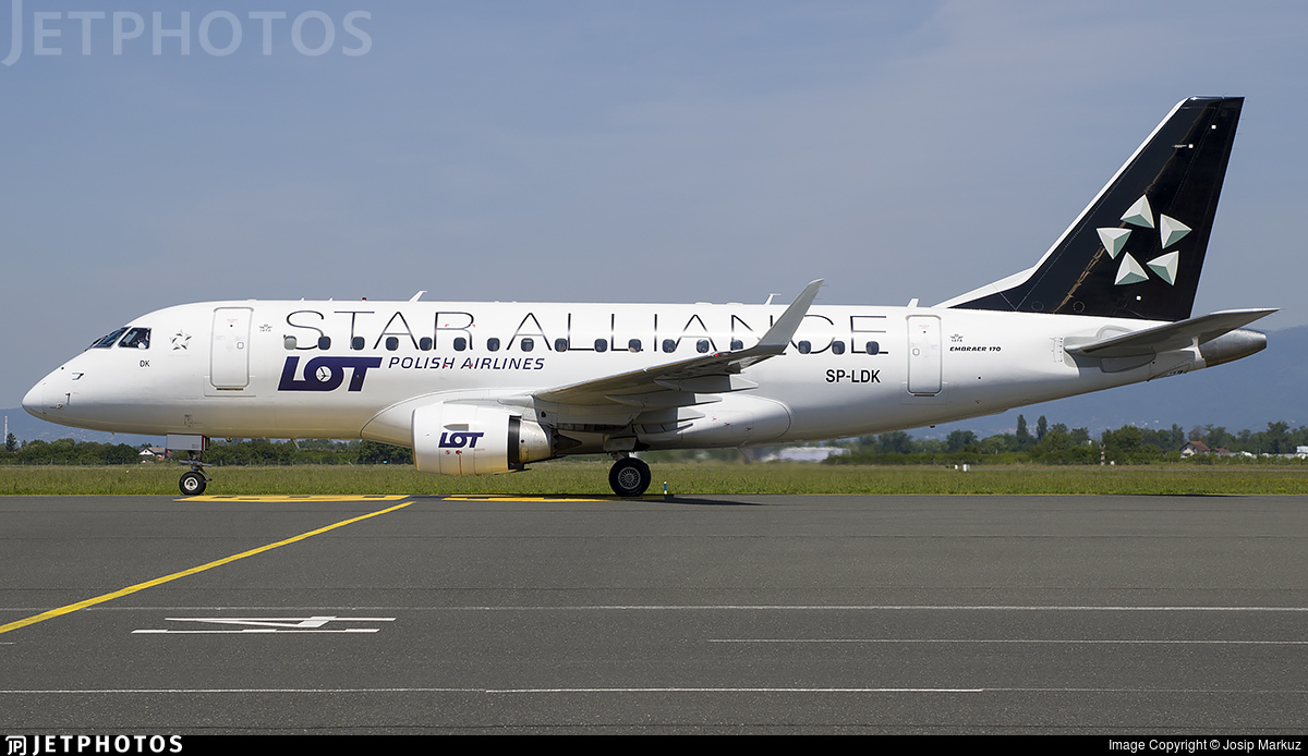 SP-LDK - Embraer 170-100STD - LOT Polish Airlines