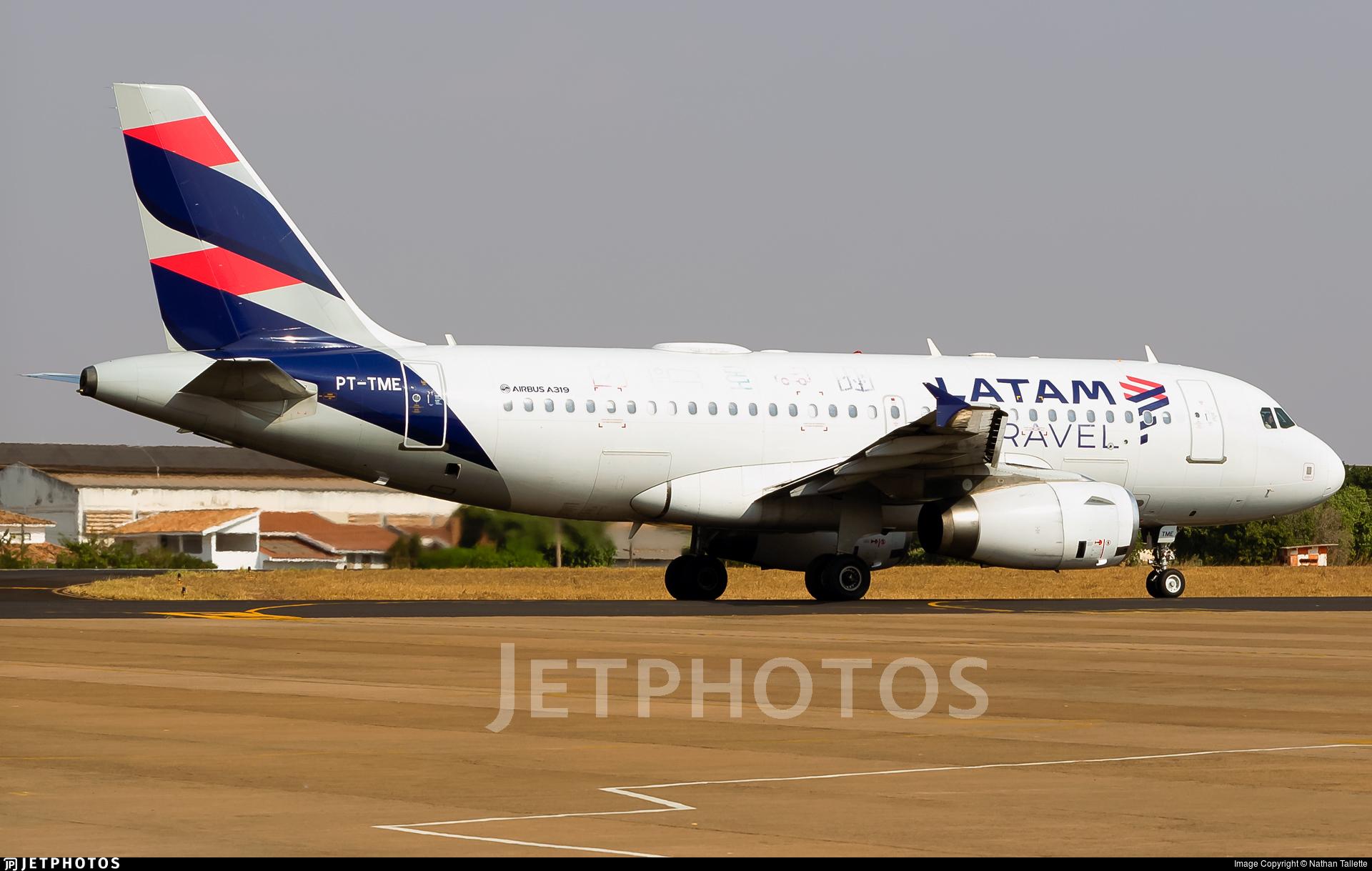 PT-TME - Airbus A319-132 - LATAM Airlines