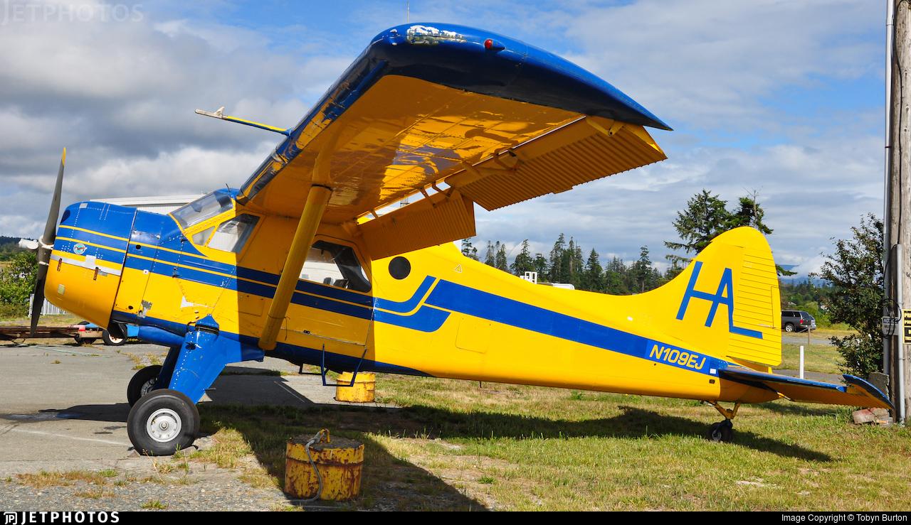 N109EJ - De Havilland Canada DHC-2 Mk.I Beaver - Private