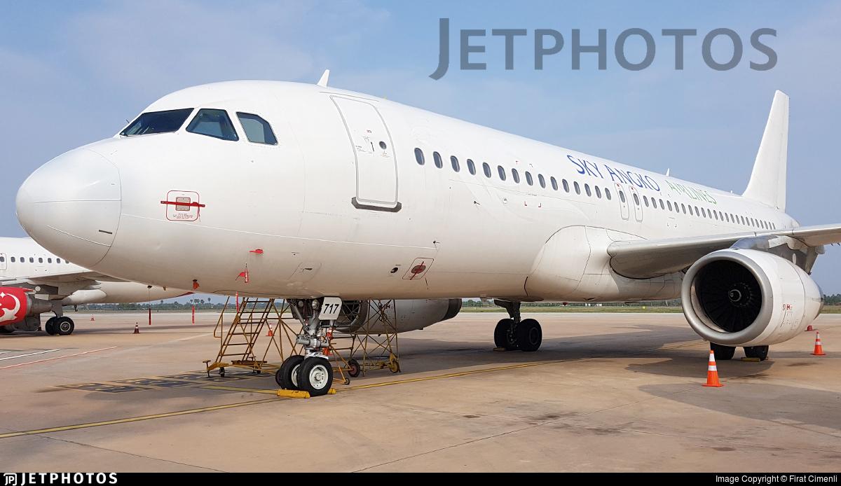 XU-717 - Airbus A320-232 - Sky Angkor Airlines