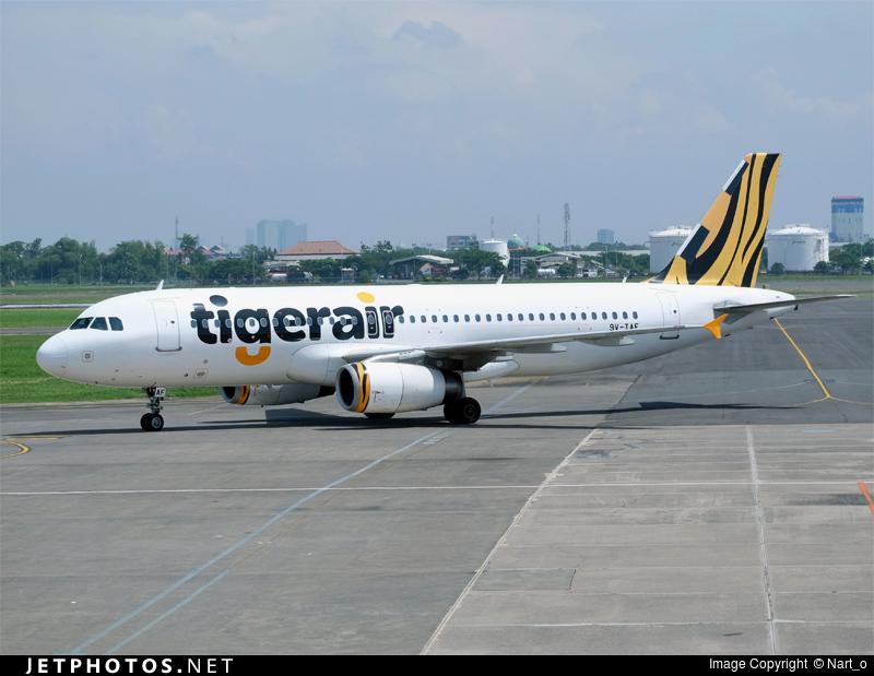 9V-TAF - Airbus A320-232 - Tigerair