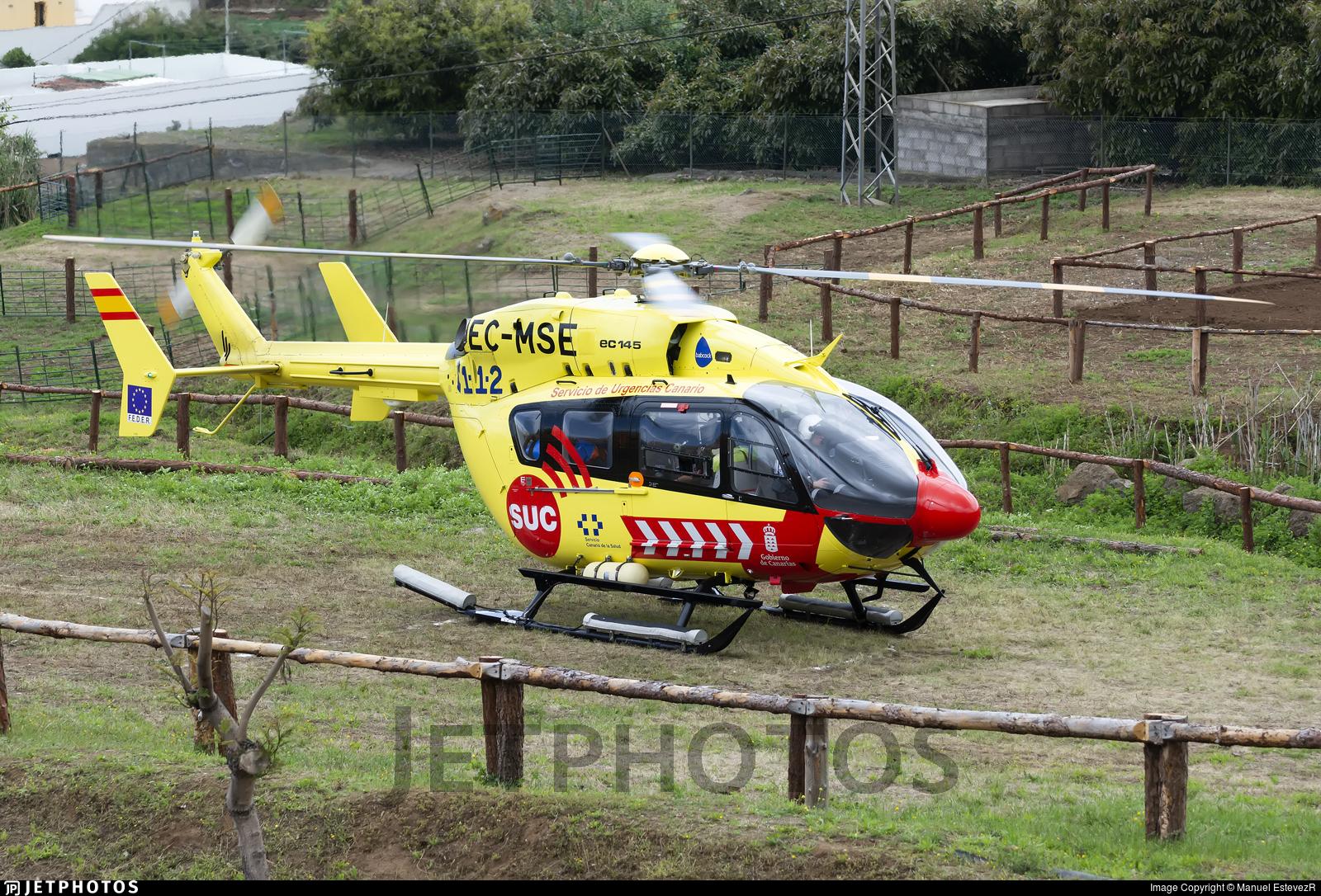 EC-MSE - Eurocopter EC 145 - Babcock MCS Spain