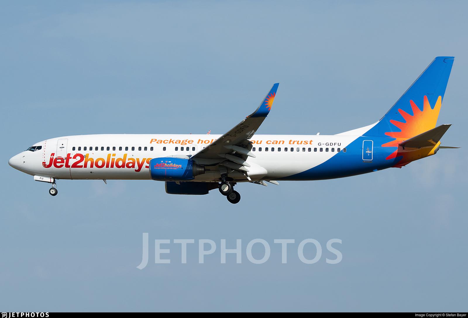 G-GDFU - Boeing 737-8K5 - Jet2.com
