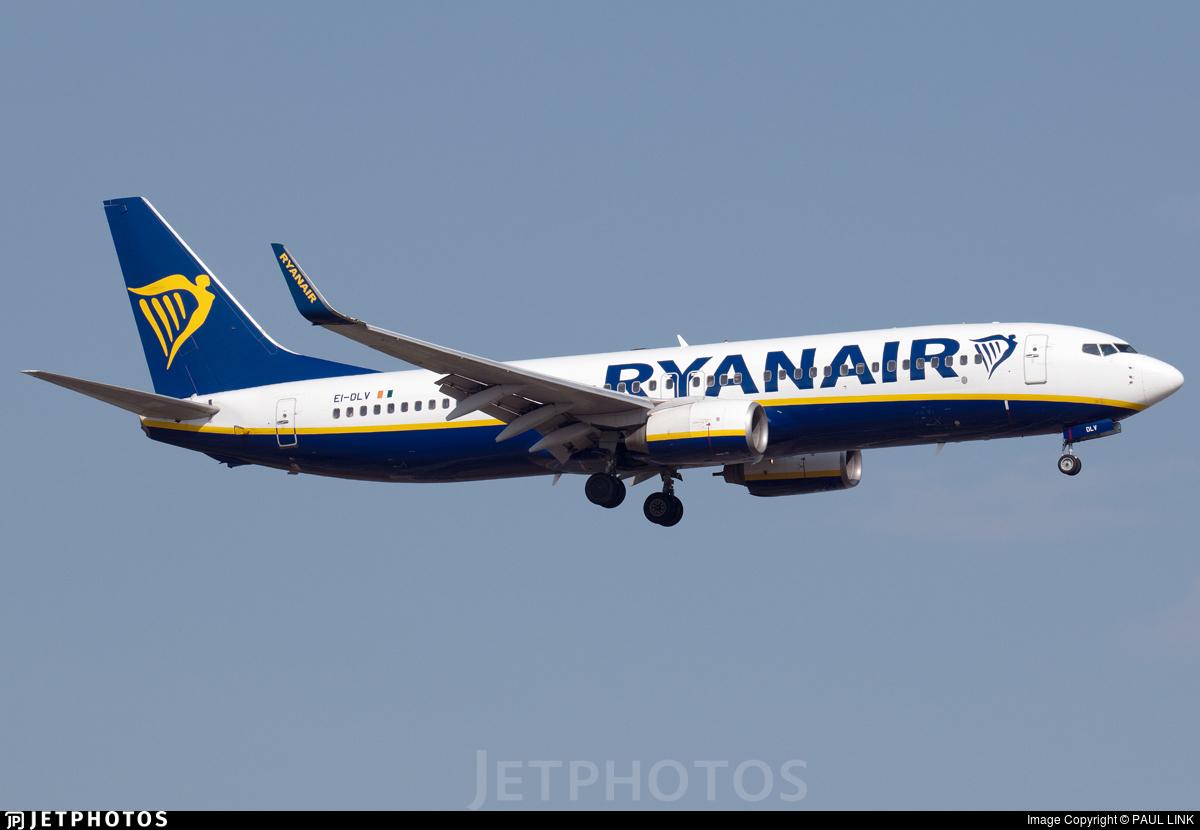 EI-DLV - Boeing 737-8AS - Ryanair