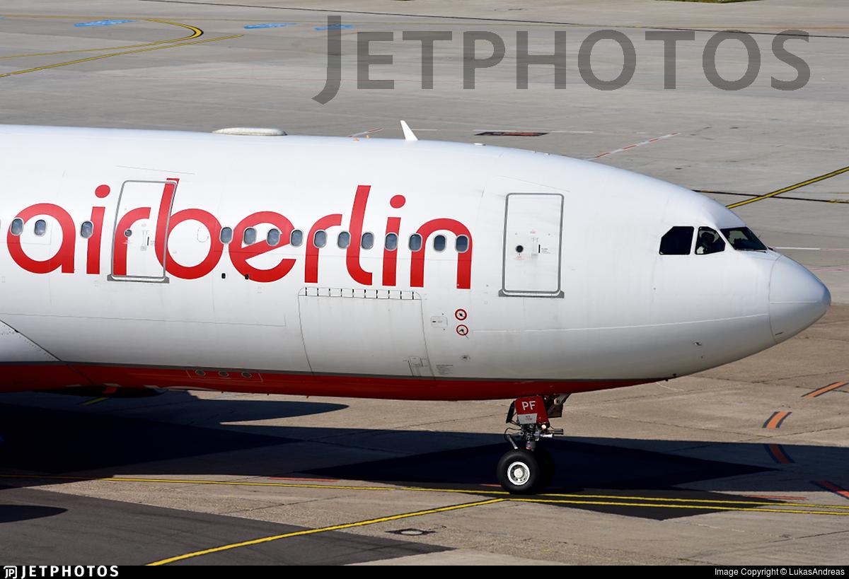 D-ALPF - Airbus A330-223 - Air Berlin