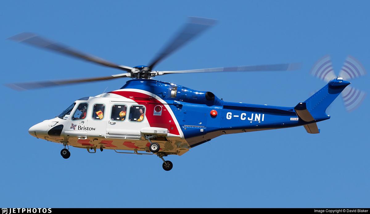 G-CJNI - Agusta-Westland AW-139 - Bristow Helicopters