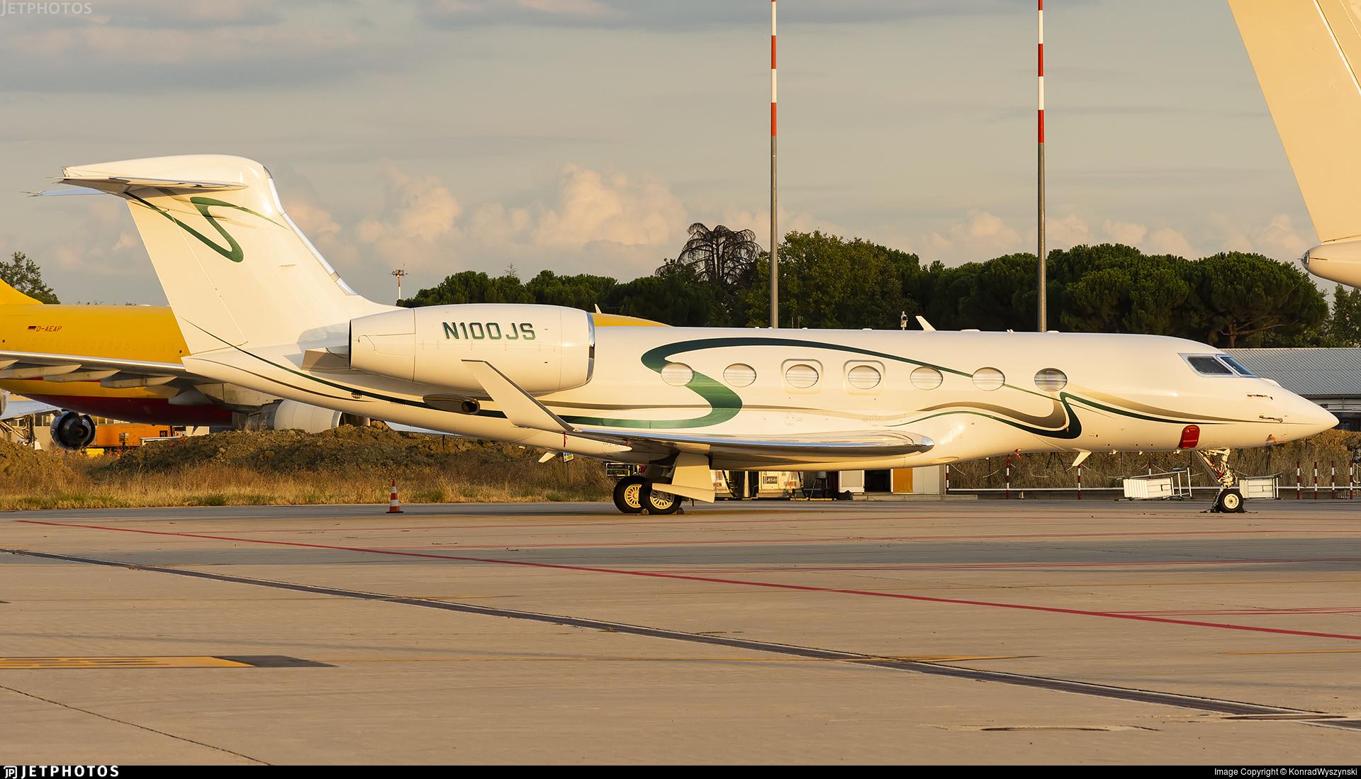 N100JS - Gulfstream G500 - Private
