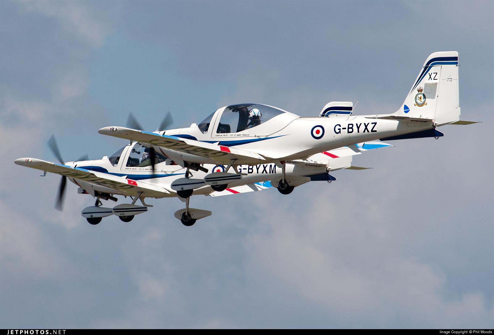 G-BYXZ - Grob G115E Tutor - United Kingdom - Royal Air Force (RAF)