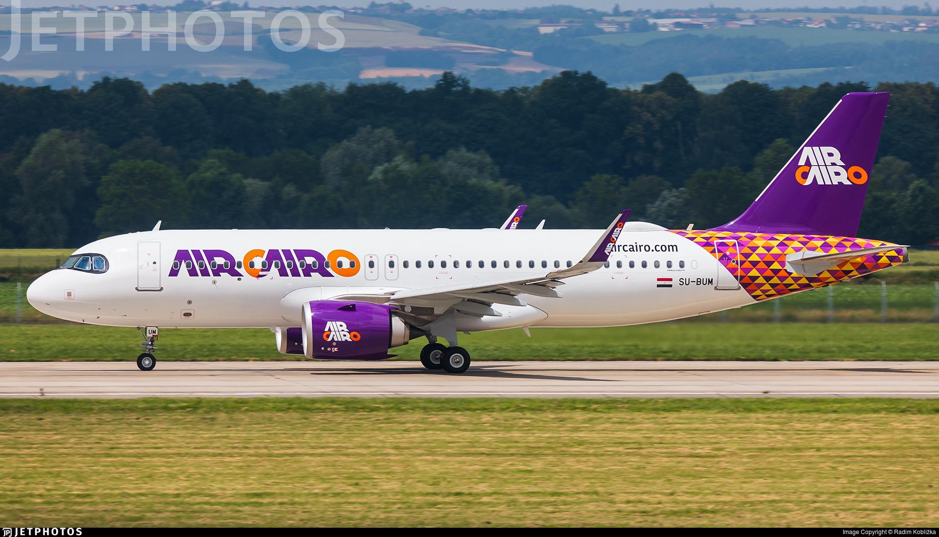SU-BUM - Airbus A320-251N - Air Cairo
