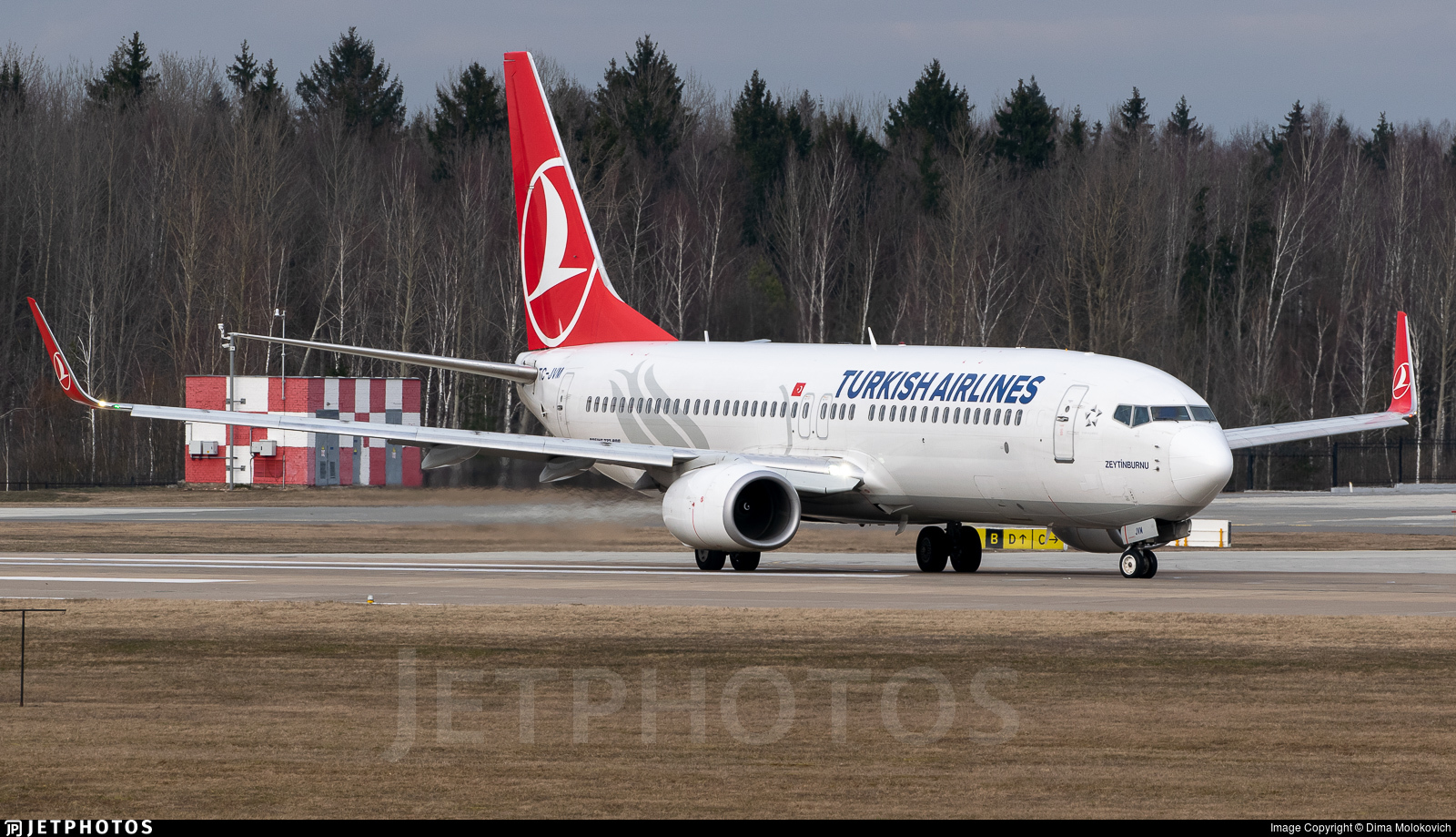 TC-JVM - Boeing 737-8F2 - Turkish Airlines