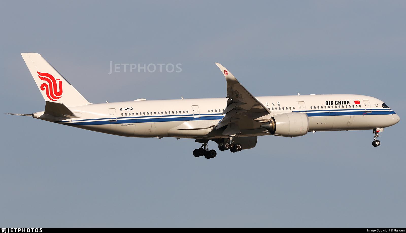 B-1082 - Airbus A350-941 - Air China