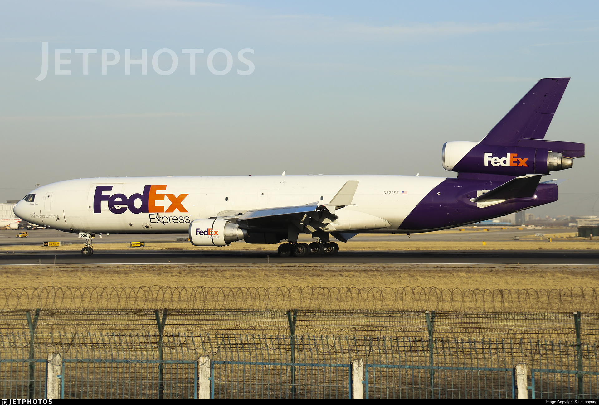 N529FE - McDonnell Douglas MD-11(F) - FedEx