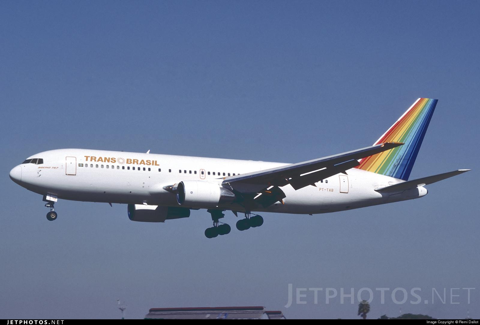 PT-TAB - Boeing 767-2Q4 - TransBrasil