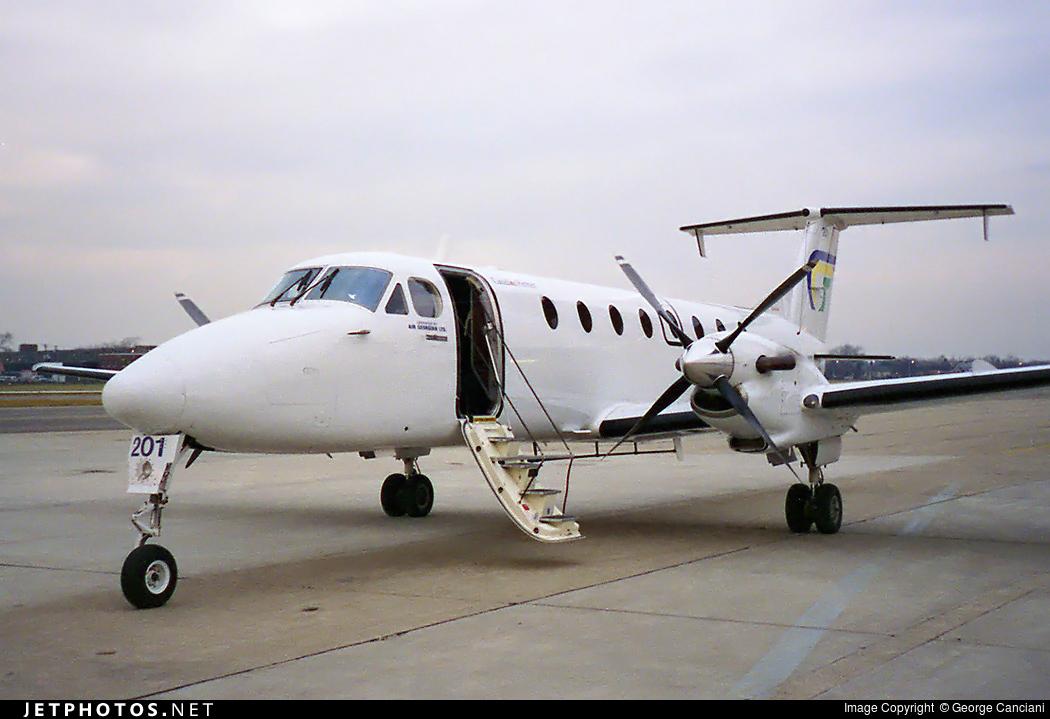 N119YV - Beechcraft 1900C - Air Georgian