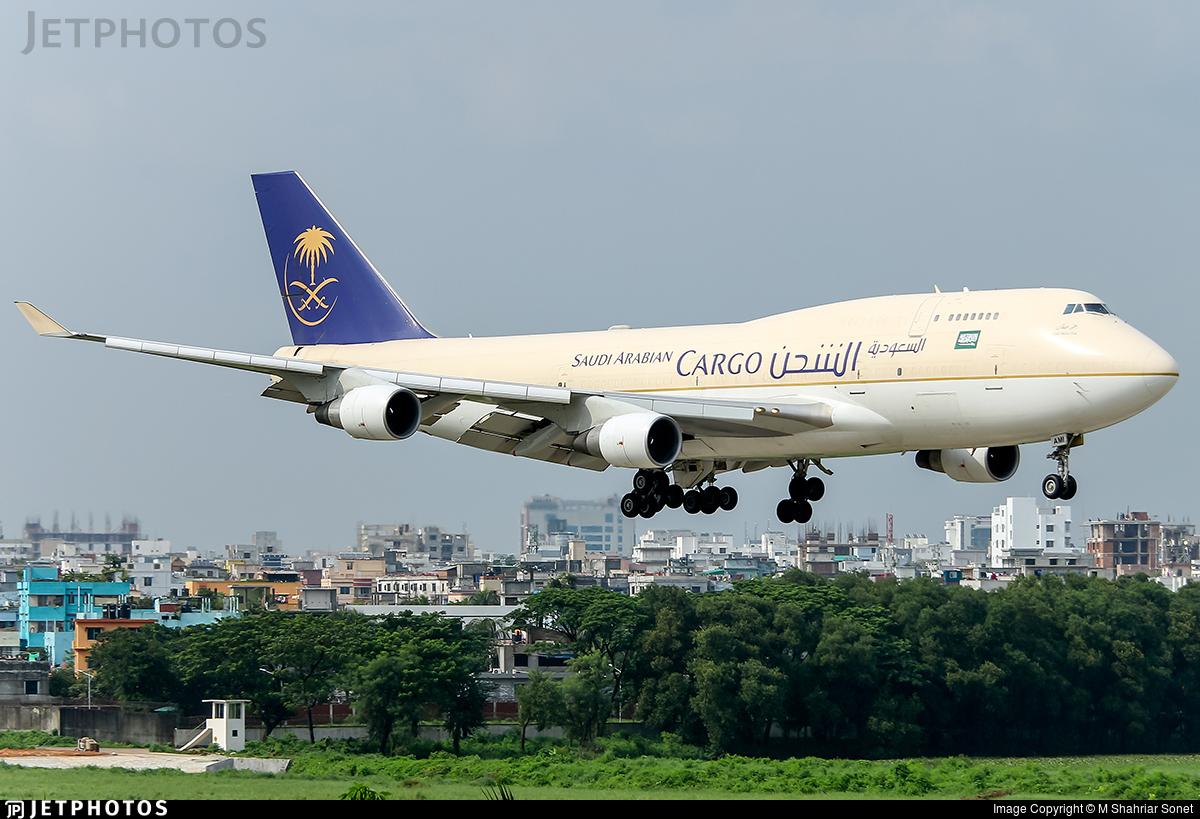 TF-AMI - Boeing 747-412(BDSF) - Saudi Arabian Airlines Cargo (Air Atlanta Icelandic)