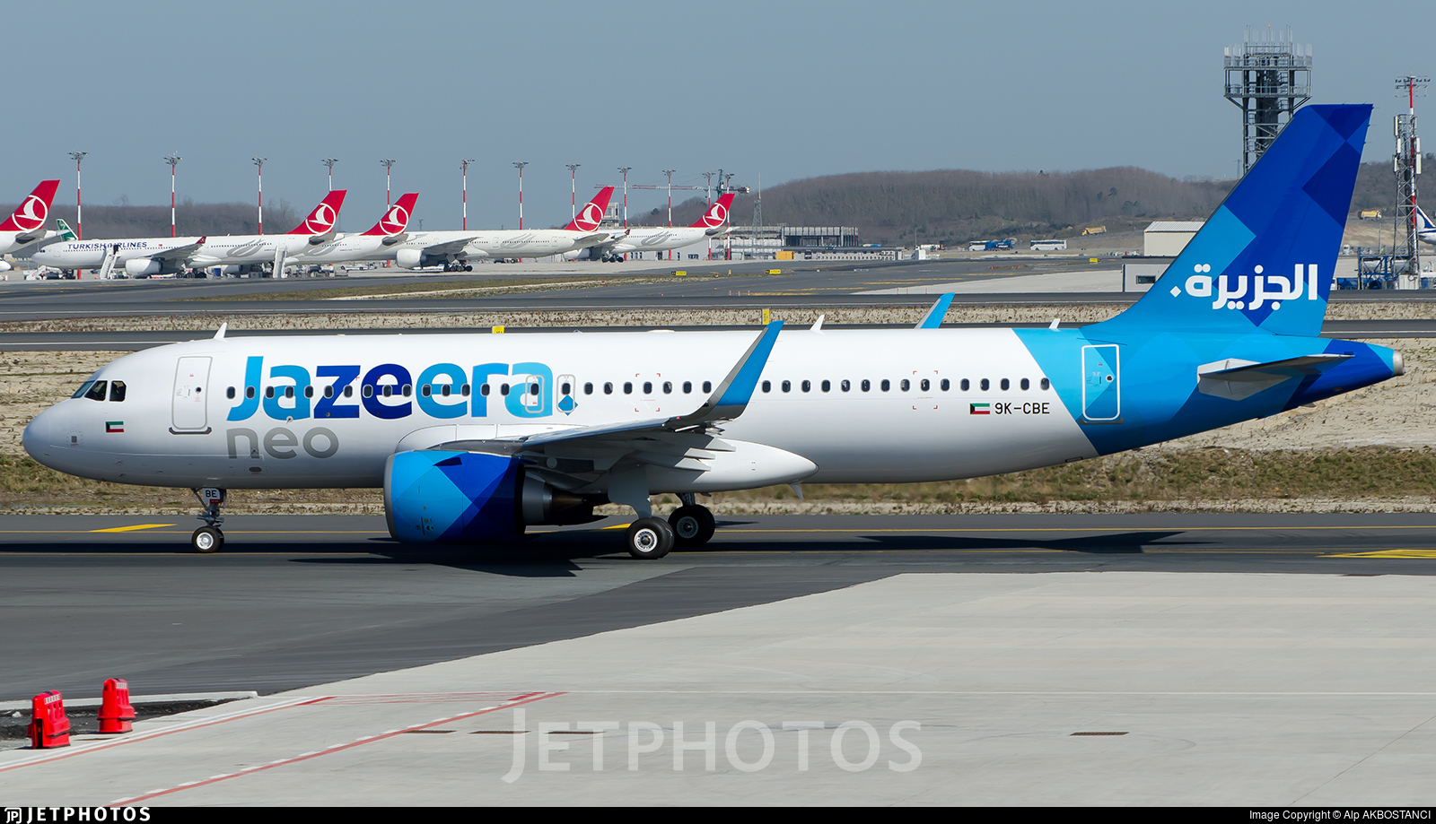 9K-CBE - Airbus A320-251N - Jazeera Airways