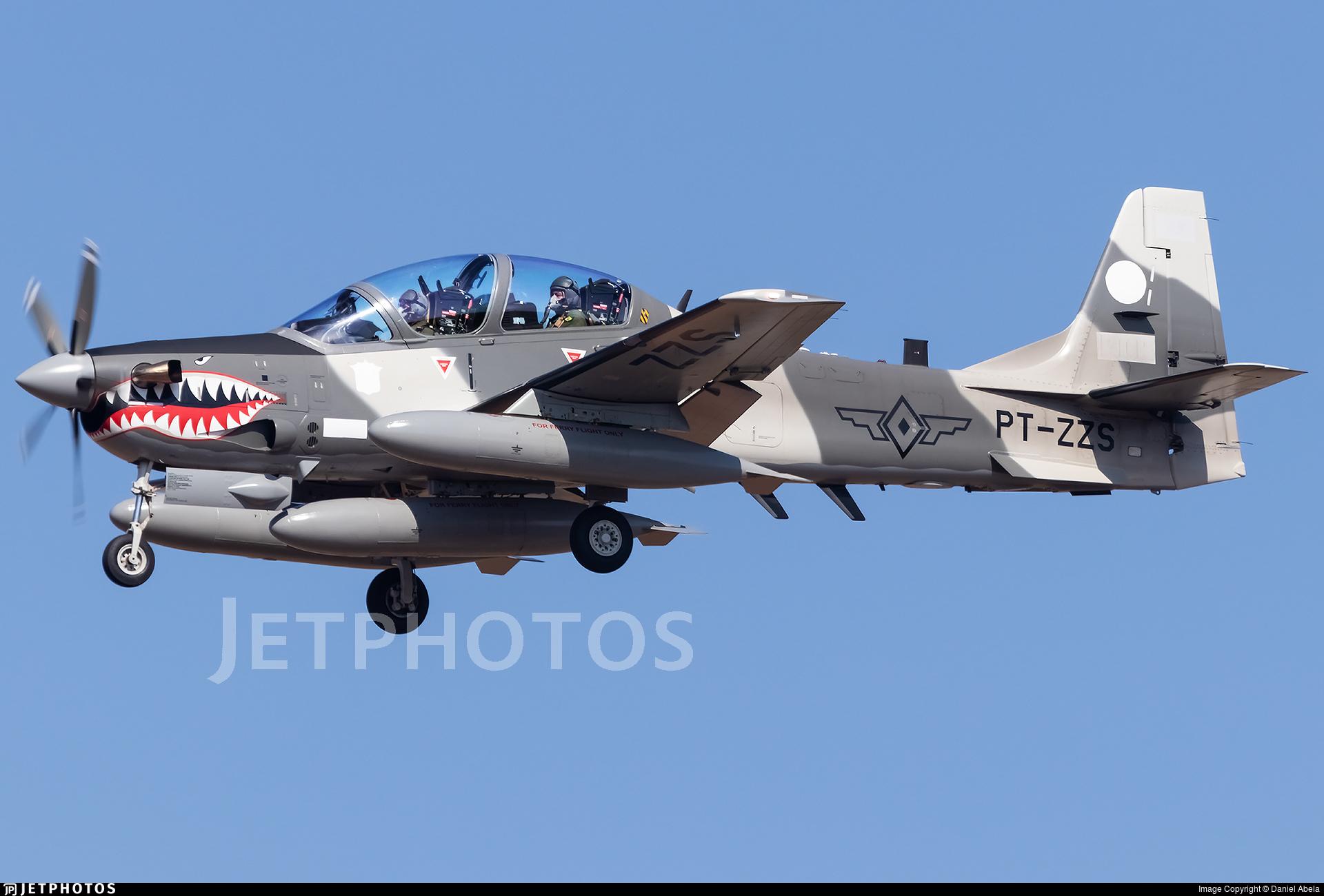 PT-ZZS - Embraer A-29B Super Tucano - Embraer