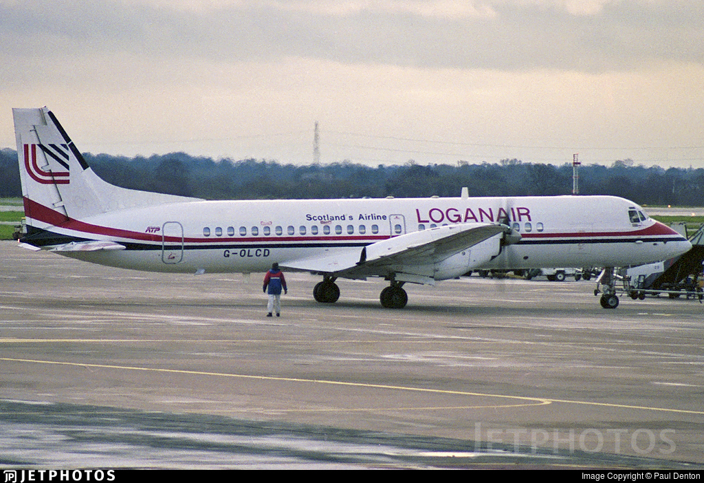G-OLCD - British Aerospace ATP - Loganair
