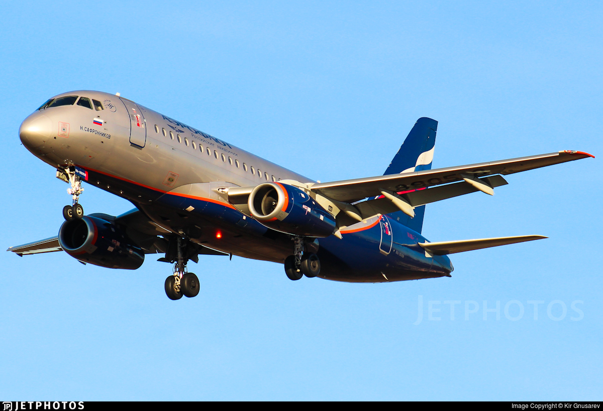 RA-89058 - Sukhoi Superjet 100-95B - Aeroflot