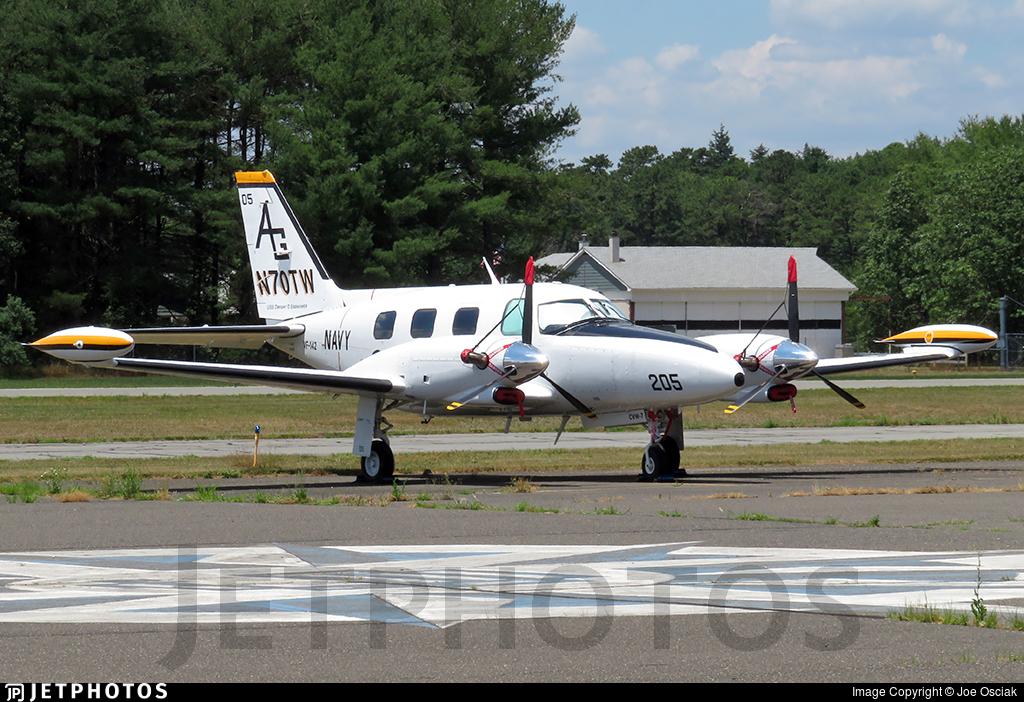N70TW - Piper PA-31T Cheyenne II - Private