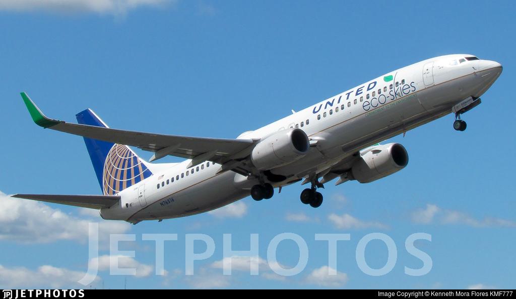 N76516 - Boeing 737-824 - United Airlines