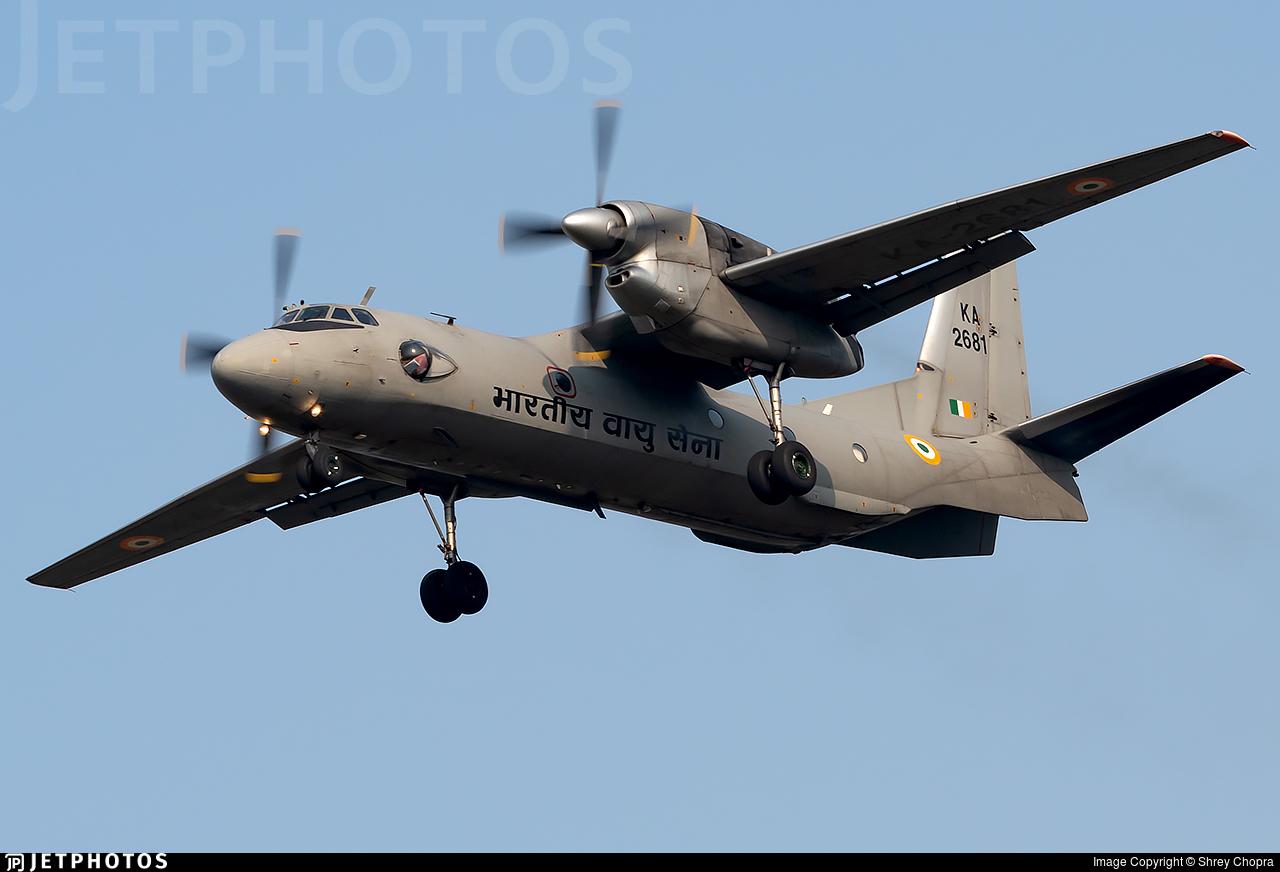 KA2681 - Antonov An-32RE - India - Air Force