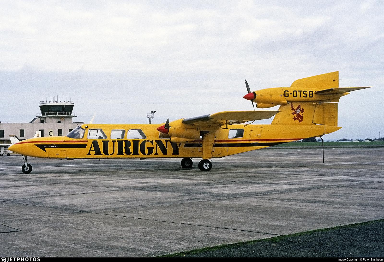 G-OTSB - Britten-Norman BN-2A Mk.III-2 Trislander