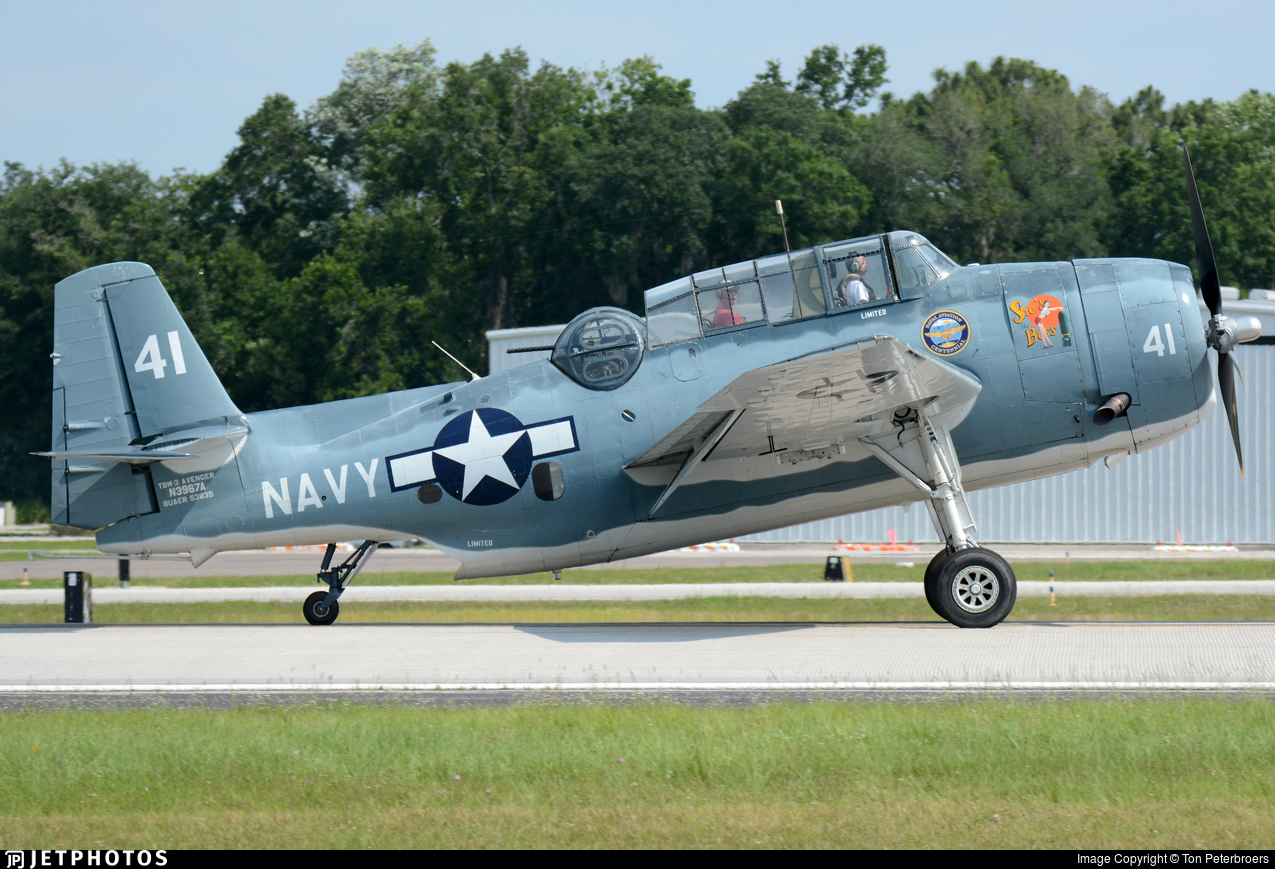 N3967A - General Motors TBM-3 Avenger - Private