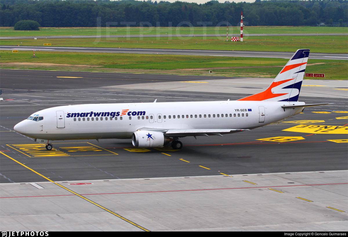 YR-SEB - Boeing 737-484 - SmartWings (Star East Airlines)