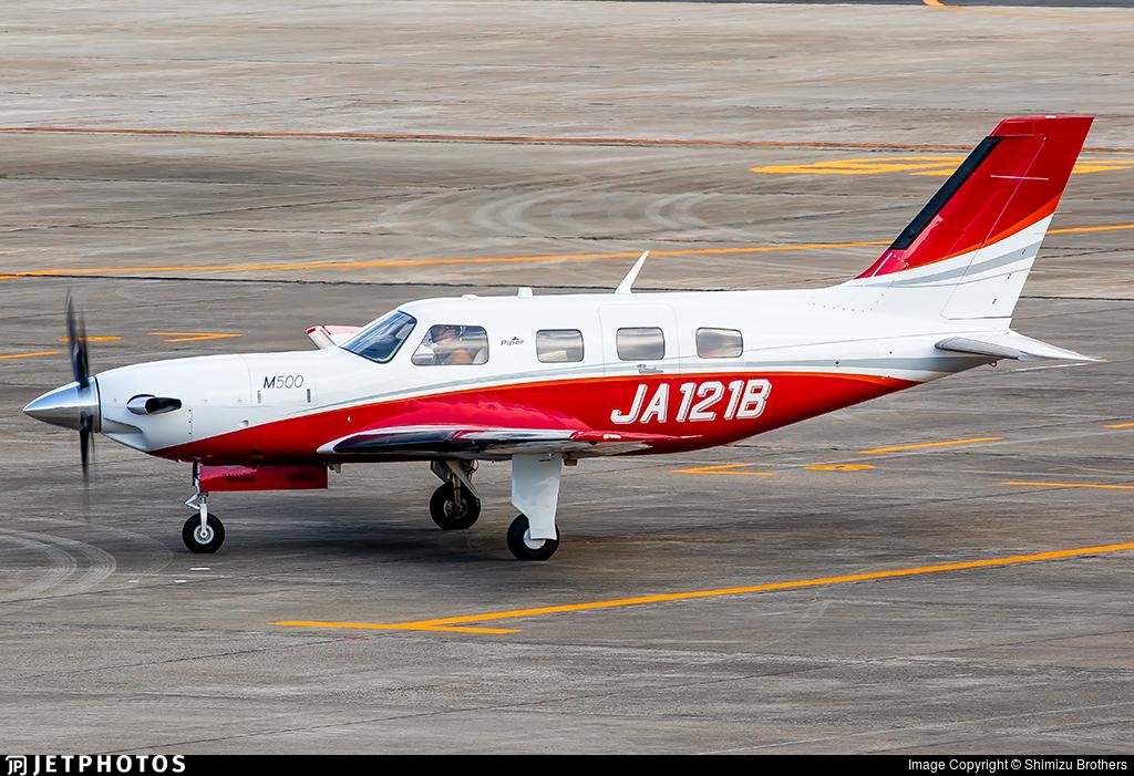 JA121B - Piper PA-46-M500 - Private