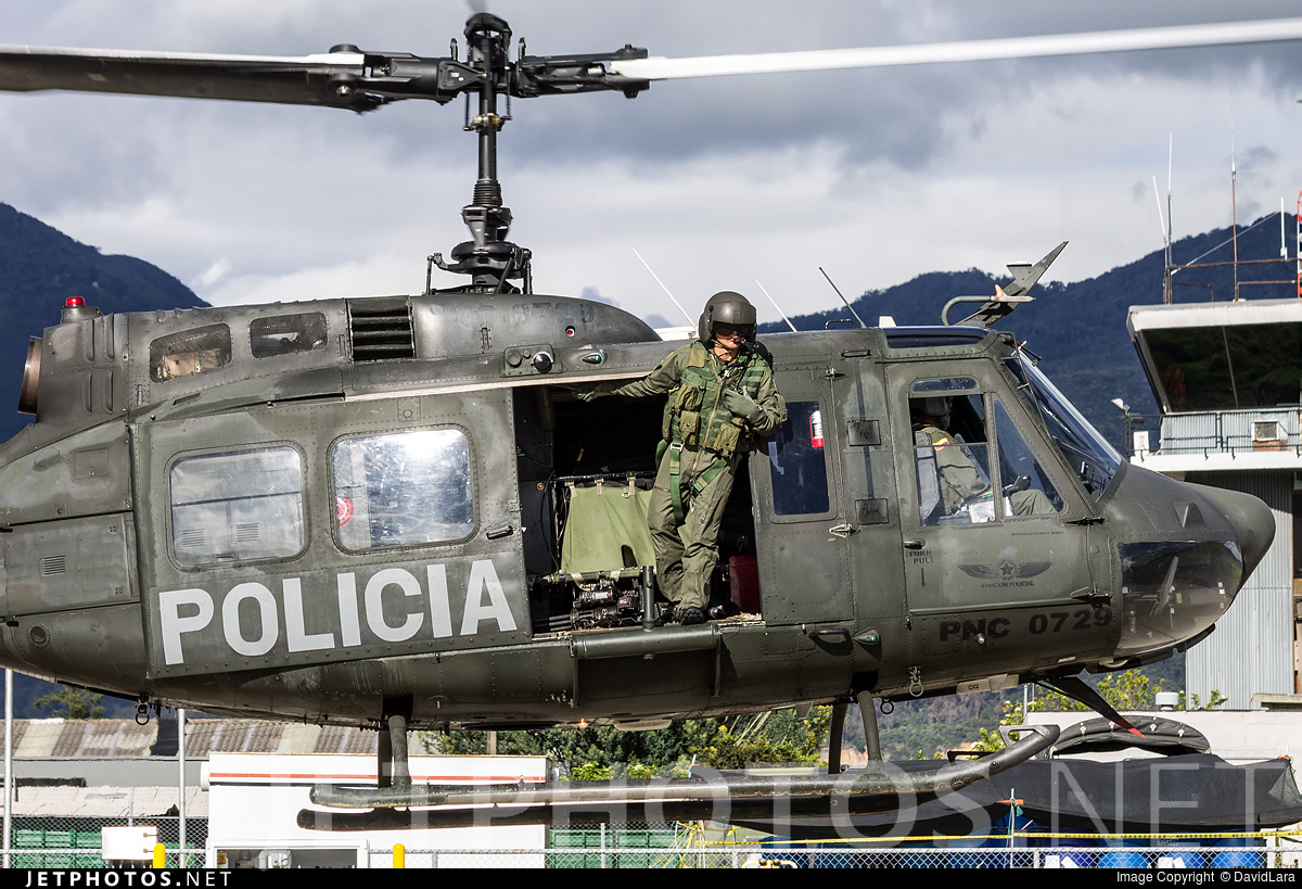 PNC-0729 - Bell UH-1H Huey II - Colombia - Police
