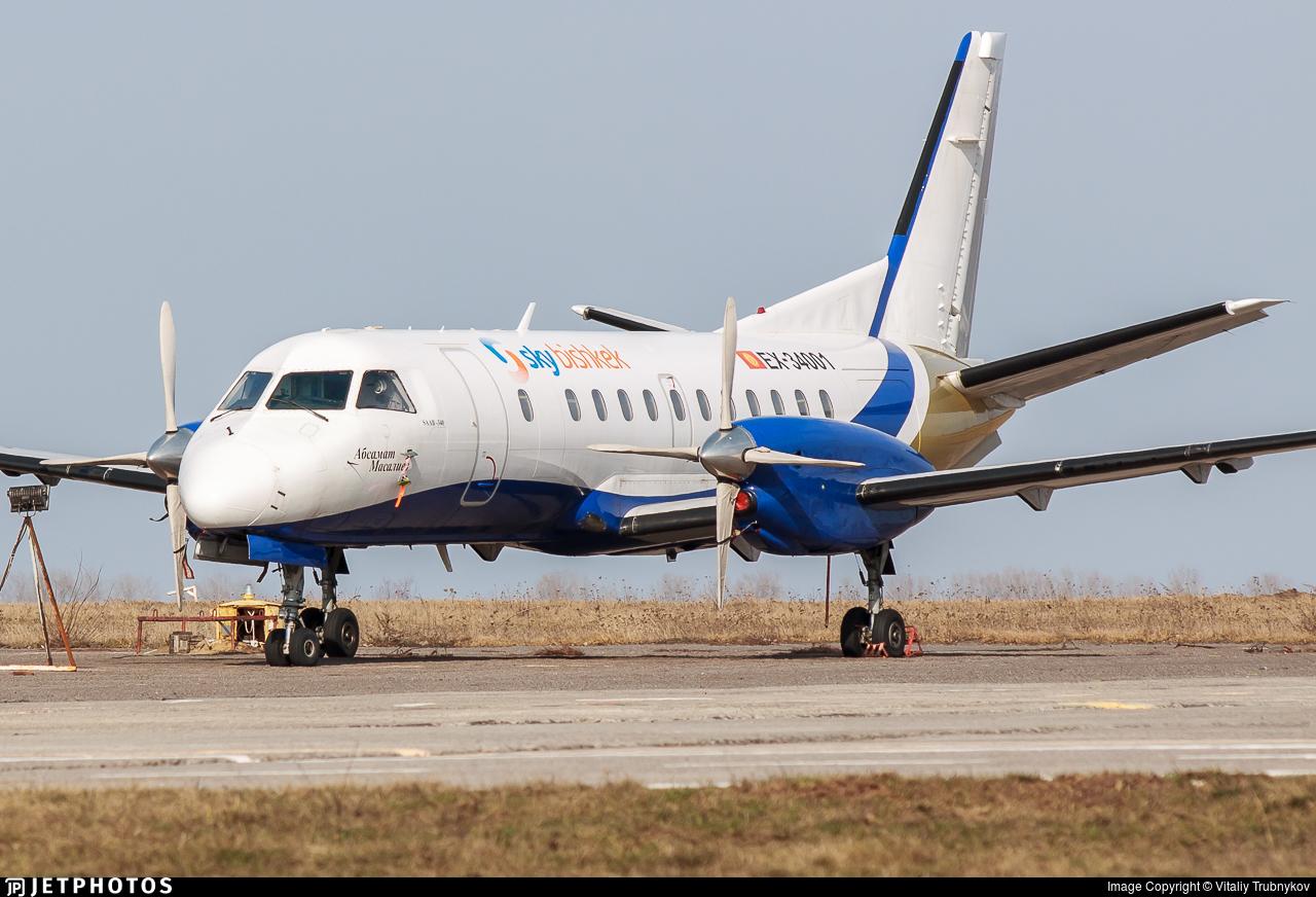 EX-34001 - Saab 340A - Sky Bishkek