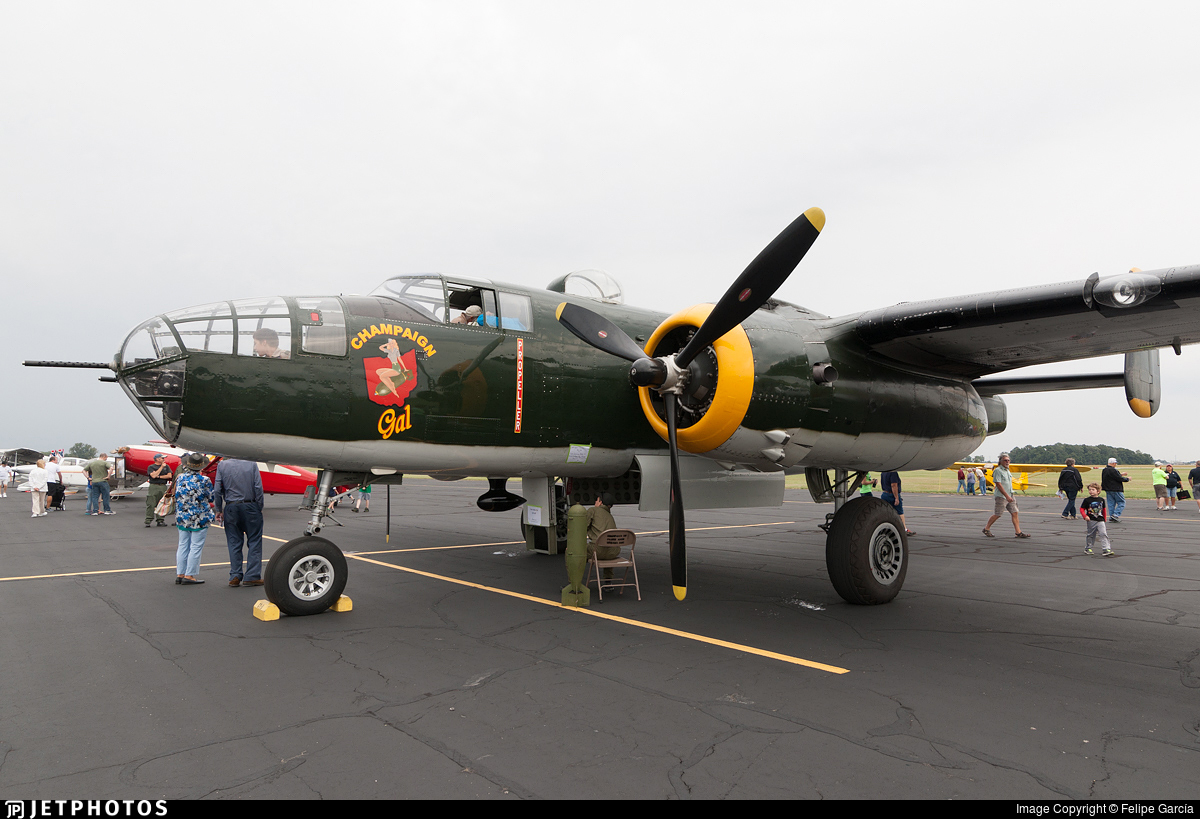 NL744CG - North American TB-25N Mitchell - Private