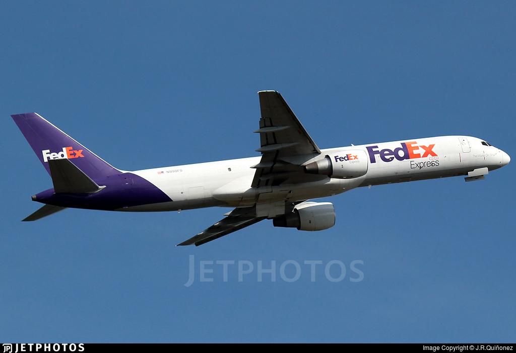 N990FD - Boeing 757-232(SF) - FedEx
