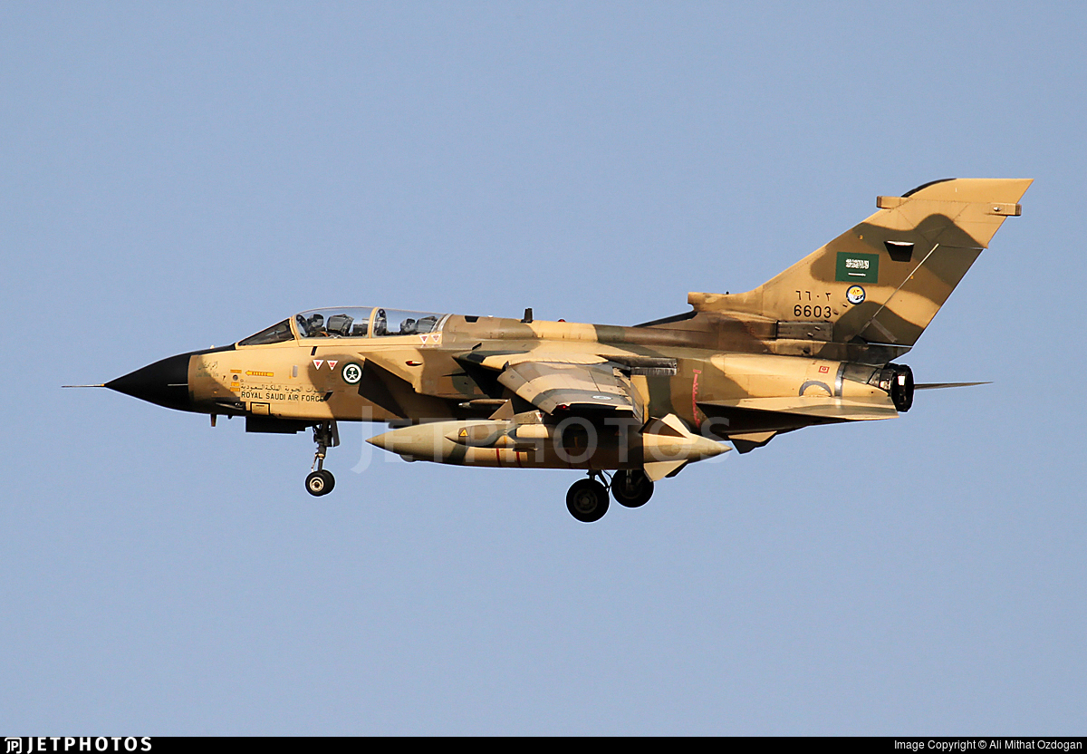 6603 - Panavia Tornado IDS - Saudi Arabia - Air Force