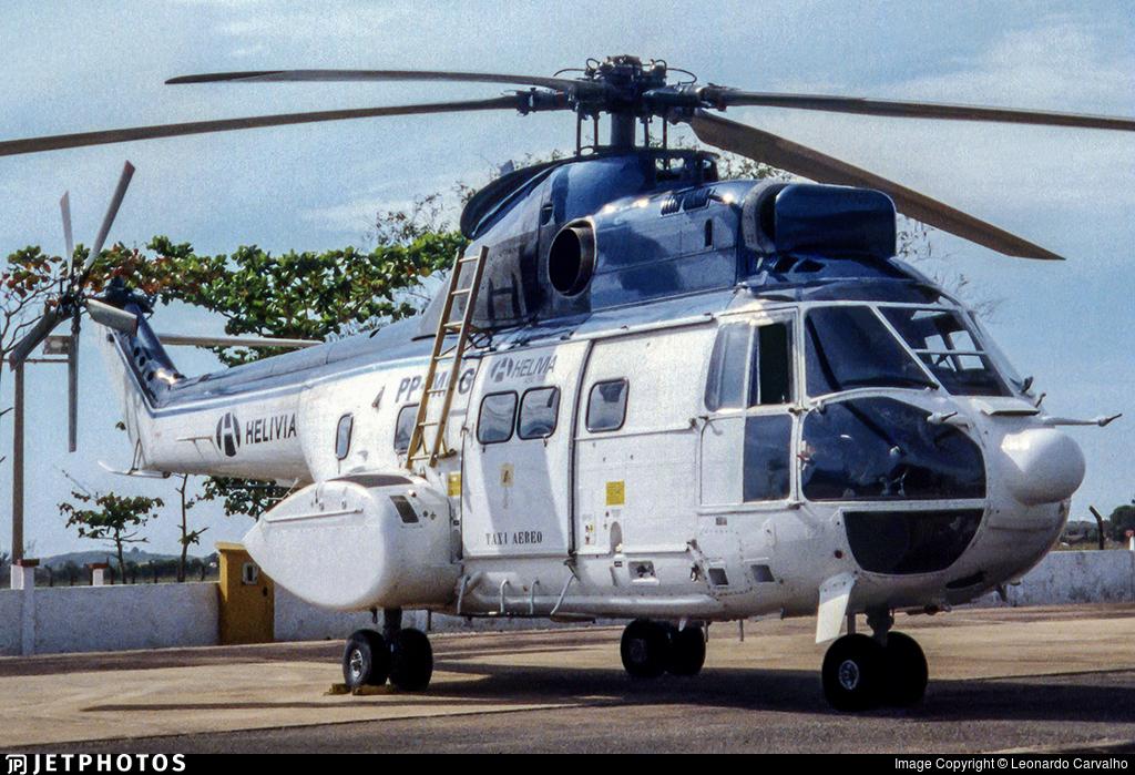 PP-MBG - Aérospatiale SA 330J Puma - Helivia Aero Taxi