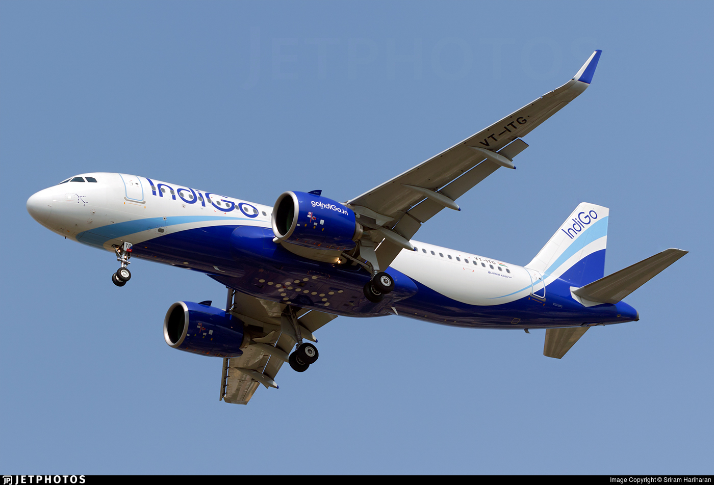 VT-ITG - Airbus A320-271N - IndiGo Airlines