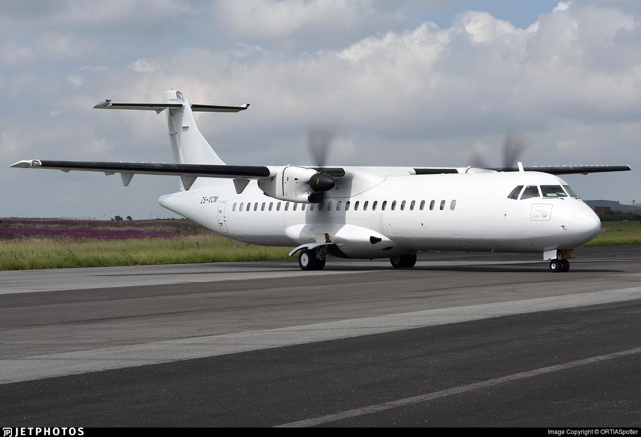 ZS-XCM - ATR 72-212(F) - Solenta Aviation