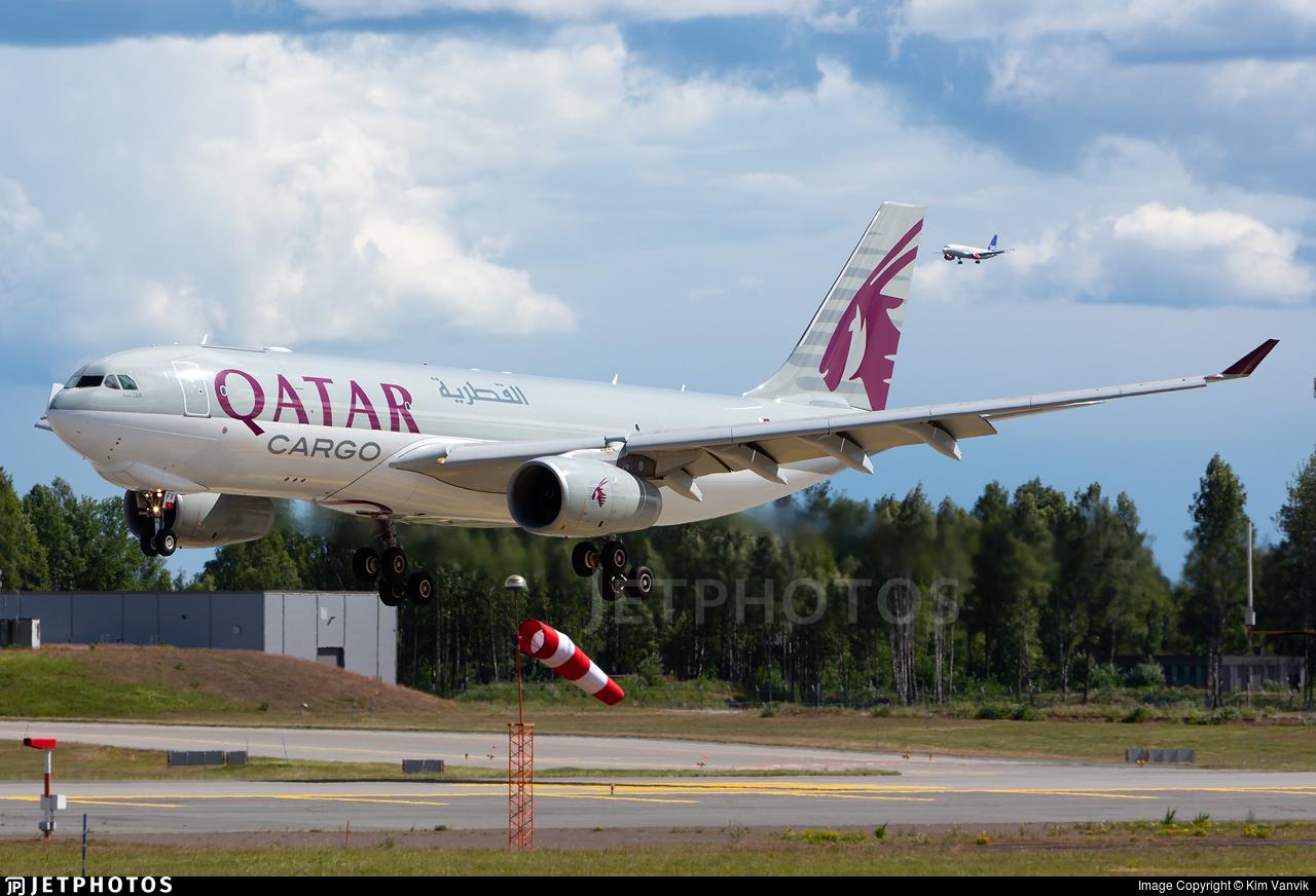 A7-AFV - Airbus A330-243F - Qatar Airways Cargo