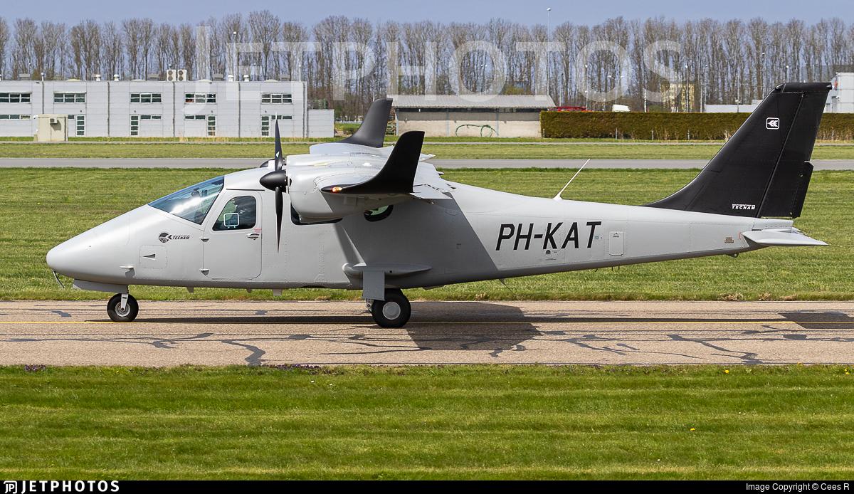 PH-KAT - Tecnam P2006T -  Kavel 10 Aerial Survey