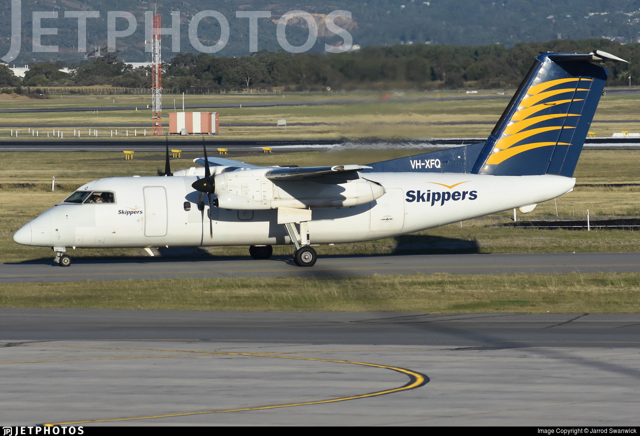 VH-XFQ - Bombardier Dash 8-106 - Skippers Aviation