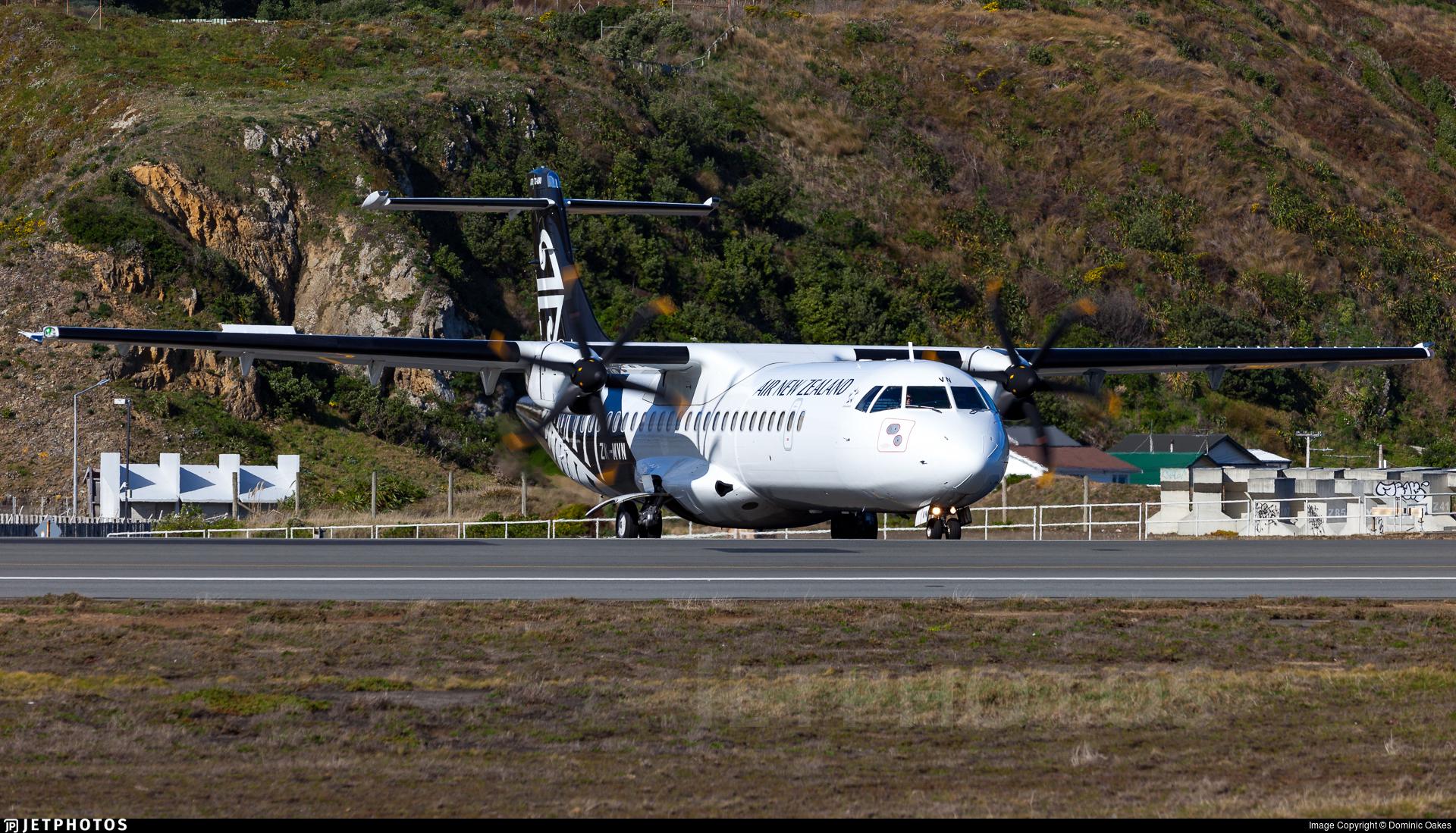 ZK-MVN - ATR 72-212A(600) - Air New Zealand
