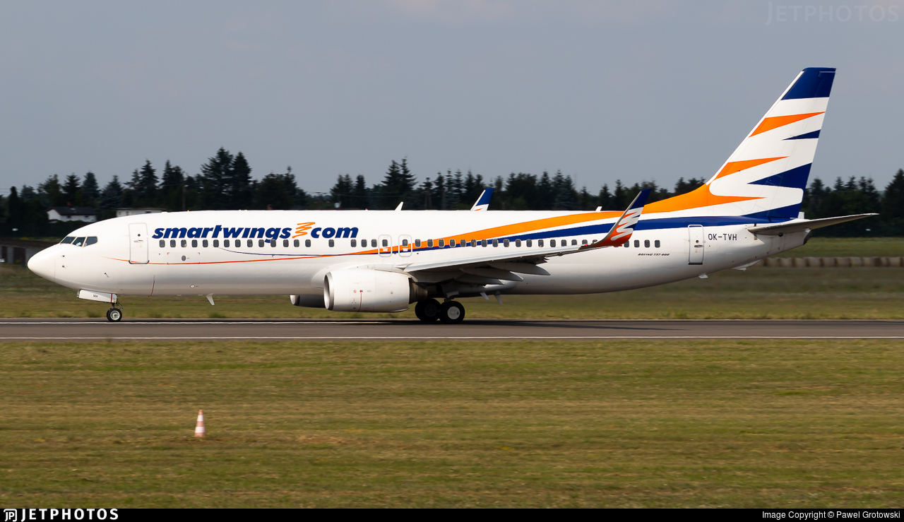 OK-TVH - Boeing 737-8Q8 - SmartWings