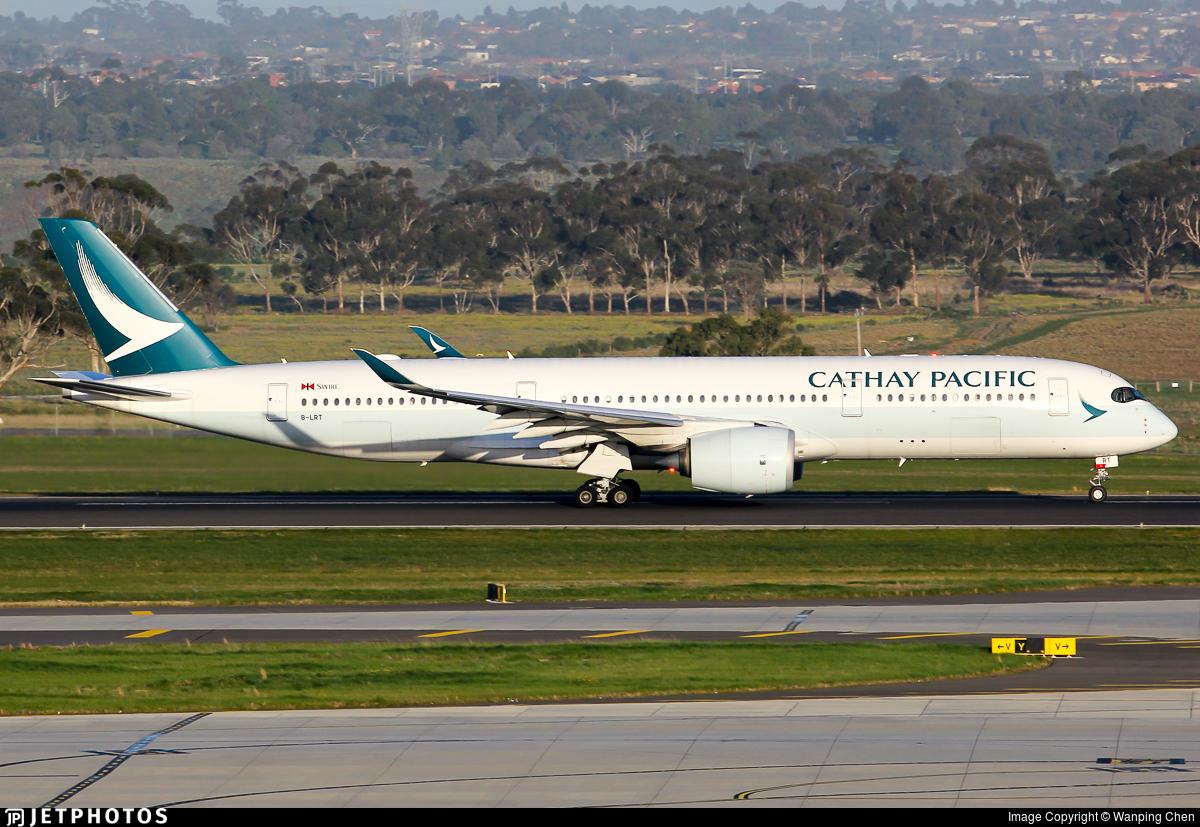 B-LRT - Airbus A350-941 - Cathay Pacific Airways
