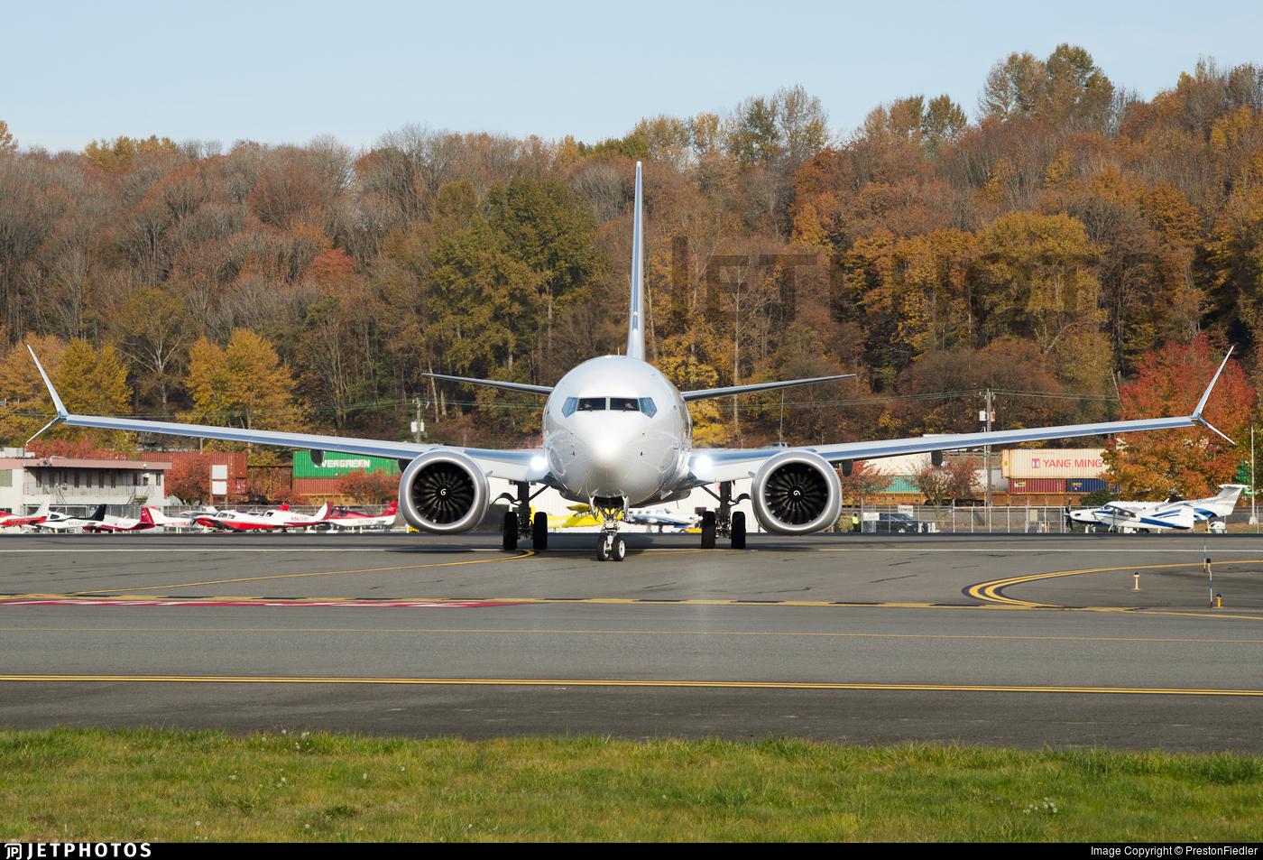 N1795B - Boeing 737-8 MAX - Boeing Company