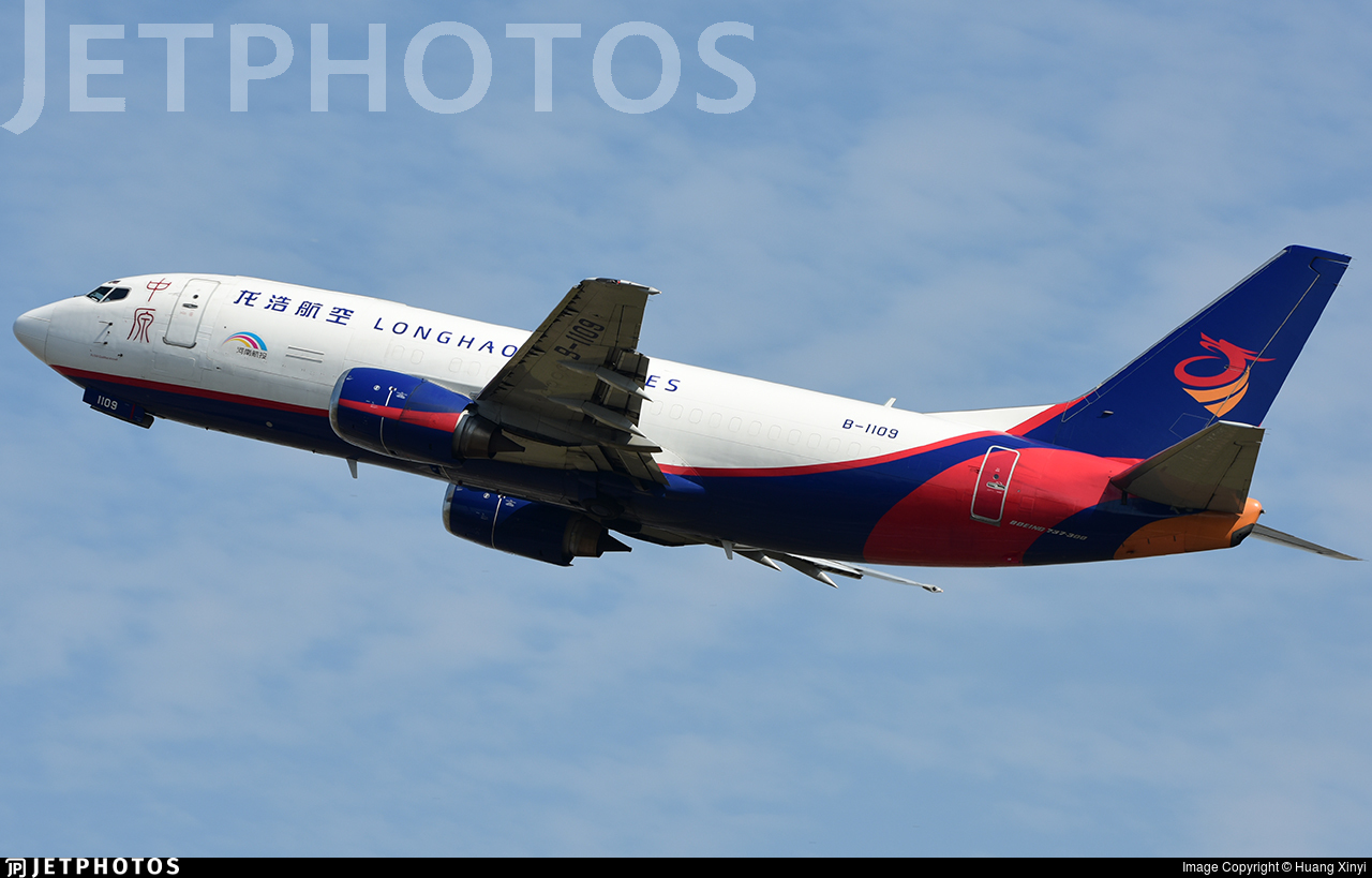 B-1109 - Boeing 737-34S(BDSF) - Longhao Airlines