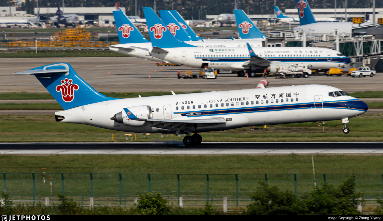 B-605W - COMAC ARJ21-700 - China Southern Airlines