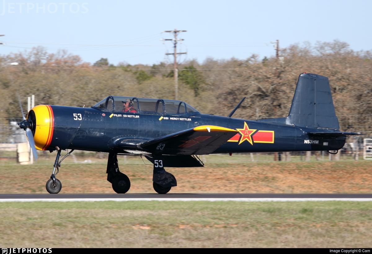 N53HM - Nanchang CJ-6A - Private
