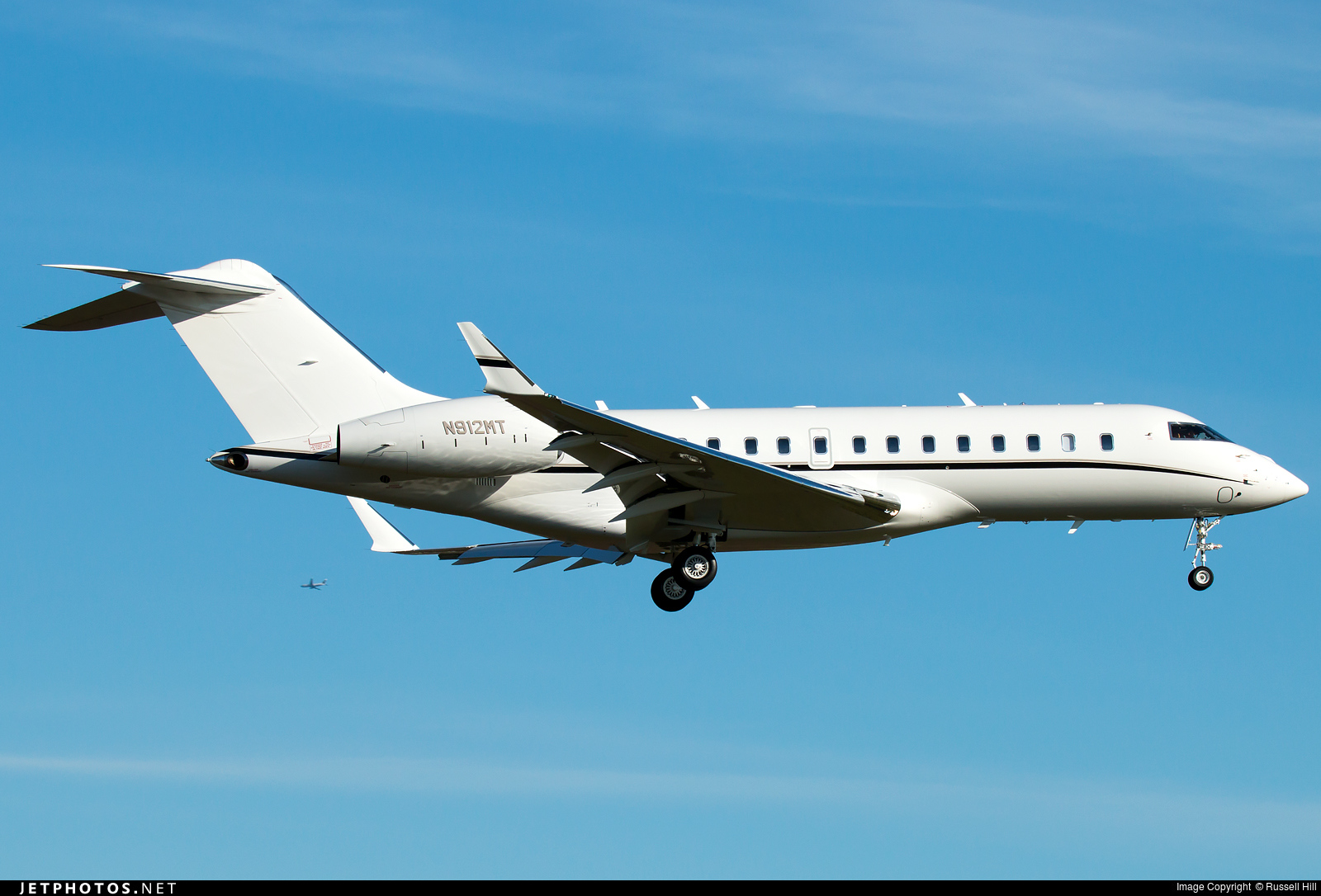 N912MT - Bombardier BD-700-1A11 Global 5000 - Private