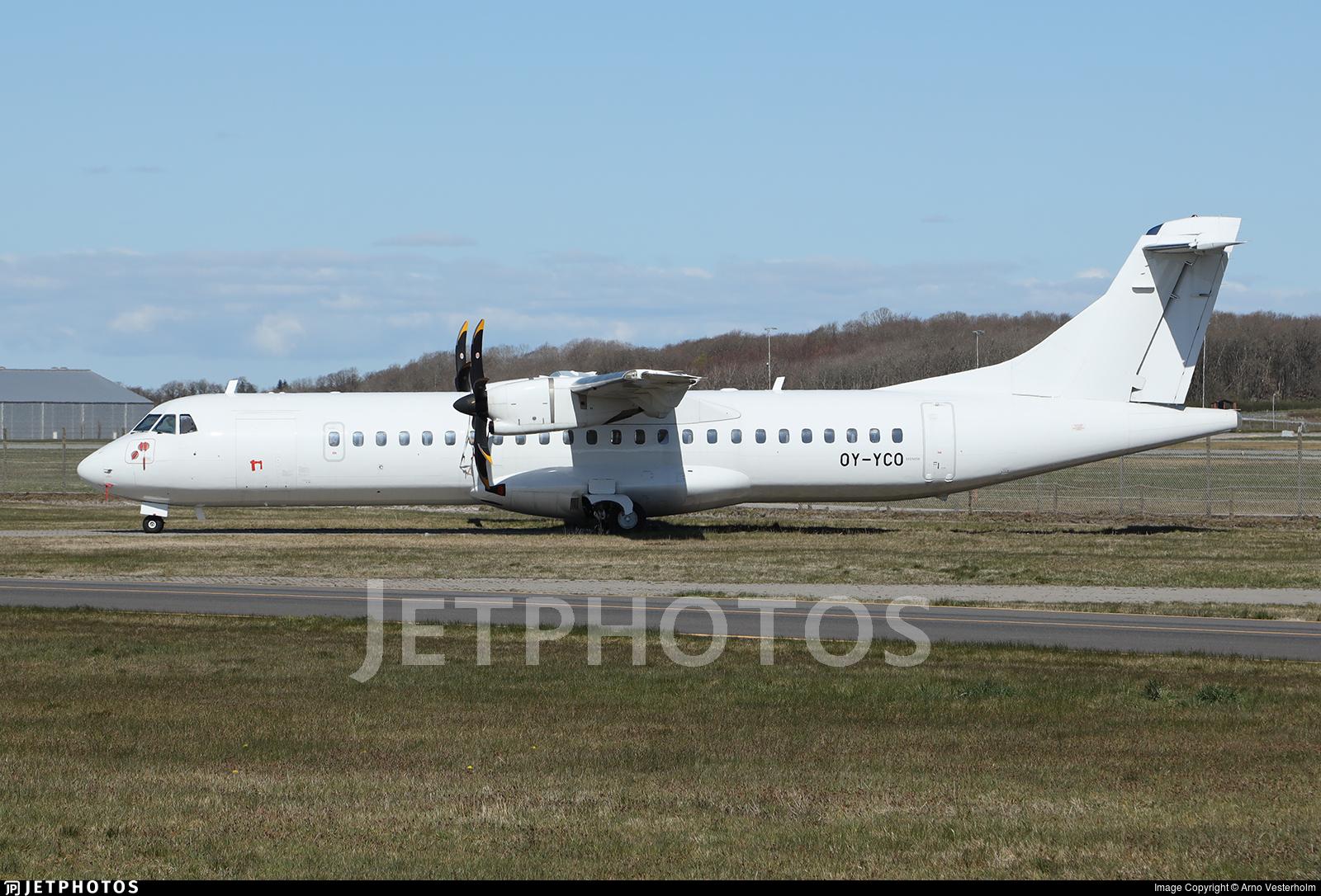 OY-YCO - ATR 72-212A(600) - Nordic Aviation Capital (NAC)